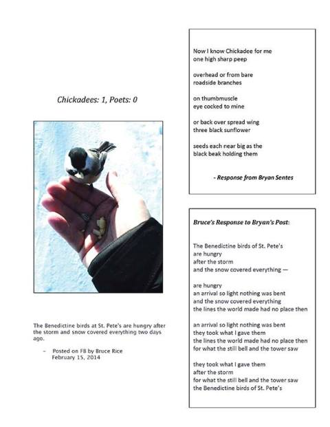 Chickadee 1; poets O